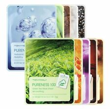 [Ship from USA] TONYMOLY Pureness 100 Mask Sheet - 10 Types (10pcs)