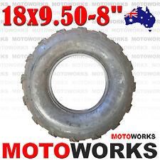 "18 x 9.50 - 8"" Inch Rear Tire 125cc 150cc 250cc 300cc ATV Quad Buggy Bike Gokart"