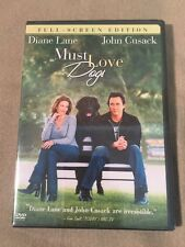 Must Love Dogs (DVD Full Screen) John Cusack Diane Lane Romantic Comedy SEALED