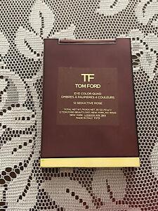 Tom Ford Eye Color Quad #12 SEDUCTIVE ROSE New in Box 0.35 oz