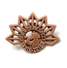 April 25 1916-2016 Dawn Of Respect Commemorative Lapel Pin * ANZAC Day