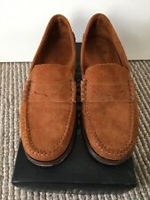 Nearly New Penny Loafer Moccasin Snuff Tan Suede Sz 9.5UK 44EU 10US Alden Weston