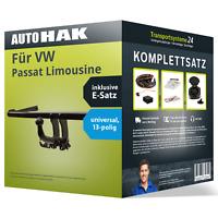Anhängerkupplung abnehmbar für VW Passat Limousine +E-Satz PKW