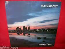 MICRODISNEY Everybody is fantastic LP 1984 ITALY MINT- + Inner