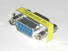 Gender Changer F/F    Buchse/Buchse   9 polig female / female  SUB-D Adapter