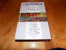 CROSSINGS DEVOTIONAL BIBLE King James Version KJV Devotions Biblical Study Book