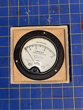 Triplet Model 341 0 To .5 Amp Dc Amperes Panel Mount Meter Gauge 3.5 Inch