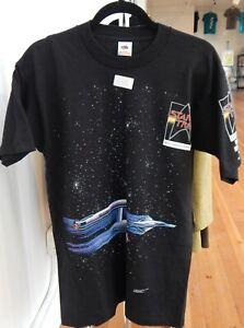 Original Vintage STAR TREK 25th Anniversary T SHIRT Large ENTERPRISE Klingon !!