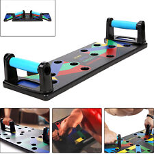 9 in1 Push Up Rack Board Fitness Workout Train Gym Exercise Pushup Stands NEW