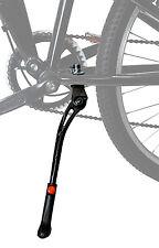 "Lumintrail Adjustable Height Bicycle Kickstand Aluminum Alloy Non-Slip 24""-28"""