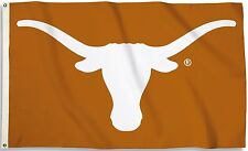 Texas Longhorns 2' x 3' Flag (Logo Only on Burnt Orange) NCAA Licensed