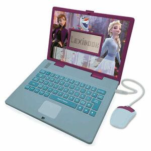 Frozen II Bilingual Educational Lexibook JC598FZI1 Disney Laptop 124 Activities