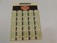Vintage 1980's Spoons Grill & Bar Mugtails Restaurant Menu Columbus Ohio