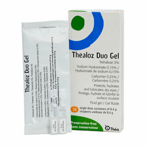 Thealoz Duo Gel 30 x 0.4g single dose containers preservative free Night