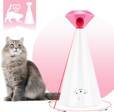 Interactive Laser Cat Toy Automatic Rotating Laser Pointer For Cool Cats Toys