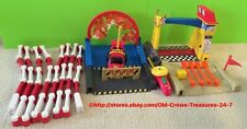 Fisher Price Grow With Me Remote Control Rally Race Cars PlaySet Gift