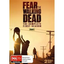 FEAR THE WALKING DEAD-Season 1-Region 4-New AND Sealed-2 Discs Set-TV Series
