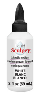 Liquid Sculpey -- White, 2 fl oz  (59 ml)