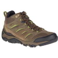 Merrell Moab Mid White Pine Mens Waterproof Walking Hiking Shoes Boots Size 8-13