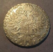 Austria Restrike Maria Theresa Thaler 1780 Silver Coin