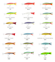 Halco Roosta Popper 105mm Fishing Lures @ Ottos TW