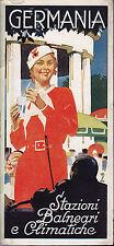 Germania Stazioni balneari climatiche 1936 olimpiadi Berlino