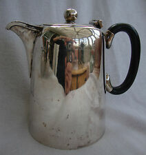 A GOOD HOTEL QUALITY SILVER PLATED EPBM COFFEE POT  / HOT WATER JUG TL&SS 5161/3
