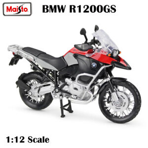 Maisto 1:12 BMW S1200 GS Motorcycles Assembled Building Car Die-Cast Collection