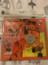 2018 Royal Mint British Royal Air Force Sea King £2 Two Pound Coin Pack Sealed