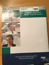 Sage Fixed Assets Acctg SQL Program 2009.1 Sealed and New.