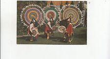 BF26773 danza de los quetzales cuetzalan puebla mexico types  front/back image