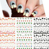 Coconut Trees Water Decals Summer Theme Nail Art Transfer Stickers Manicure Tips