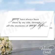 Dad Stepdad Name Will you walk me down the aisle Card Personalised Invitation