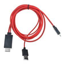 Ablegrid MHL Micro USB HDMI TV Adapter Cord For Samsung Galaxy S3 SCH-i535 Phone