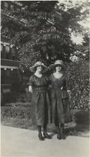 Women From Before Found Photo bw Free Shipping Original Antique Girls 911 7