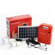 Solar Power Emergency Mini Portable Power System Household Mobile Lighting