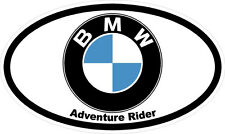 "#z2026 (1) 5"" ADV Adventure Rider BMW GS 1200 650 800 Pannier Decal Sticker"