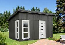 Palmako Nordic Gartenhaus Etta 13,8 m² Holz Pultdach 453 x 330 cm Gerätehaus