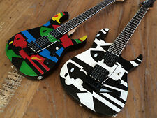TWO John Petrucci Ibanez Picasso Miniature Guitars - Free Shipping in US