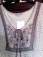 M&S Indigo Collection Tunic Multi Size 12