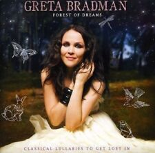 GRETA BRADMAN Forest Of Dreams CD NEW Classical Lullabies To Get Lost In