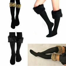 Unbranded Faux Fur Leg Warmers for Women