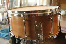 Hand Crafted 6.5 X 14 Snare maple re-rings