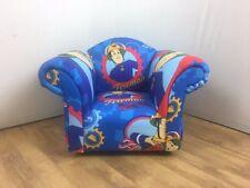 Children's/Kids Armchair in Fireman Sam Themed Fabric