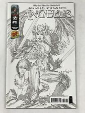 Angelus  #1 - Dynamic Force Sketch Cover C - Limited To 500 No COA