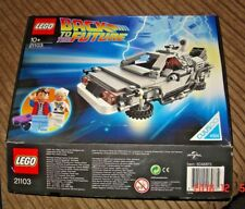 LEGO RITORNO AL FUTURO DELOREAN TIME MACHINE 21103 in Scatola