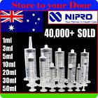 Syringes 1ml 3ml 5ml 10ml 20ml 30ml 50ml Nipro Suit Luer Slip / Lock Syringe