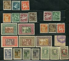 /Lithuania Stamps lot of 25,pre ww2