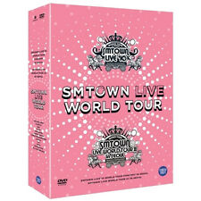 Korea Music SM TOWN - Live World Tour in Seoul DVD (5 discs) (DVDMU278)