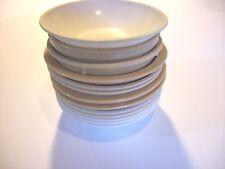 12 High Temp Plastic Restaurant Cafeteria Food Service Bowls